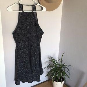 Paper Crane Anthropologie black dress